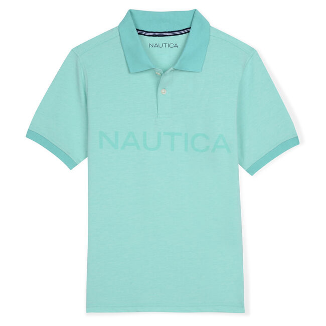 Boys' Catch of the Day Polo (8-20),Hunter Green,large