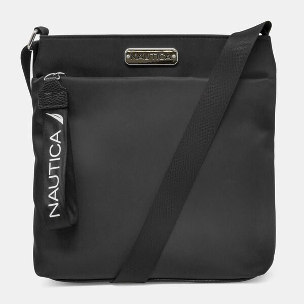DIVER CANVAS CROSSBODY BAG - True Black