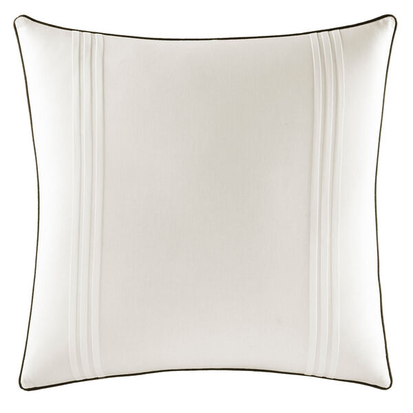 Caldwell Euro Pillow Sham - Antique White Wash