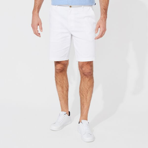 "10"" PERFORMANCE DECK SHORTS - Bright White"