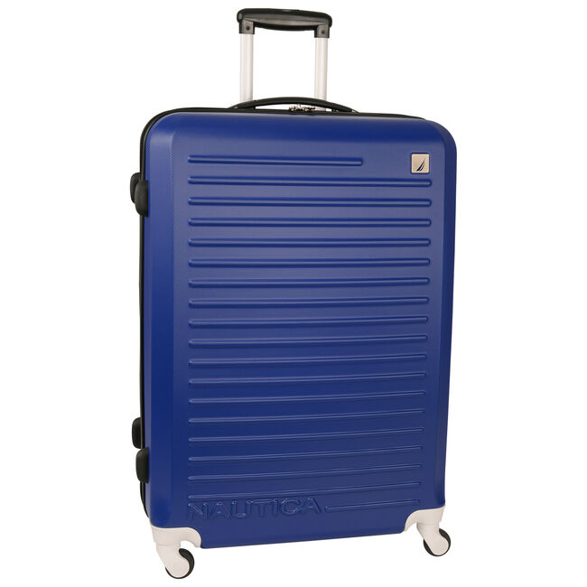 Tide Beach Hardside Spinner Luggage,Bright Cobalt,large