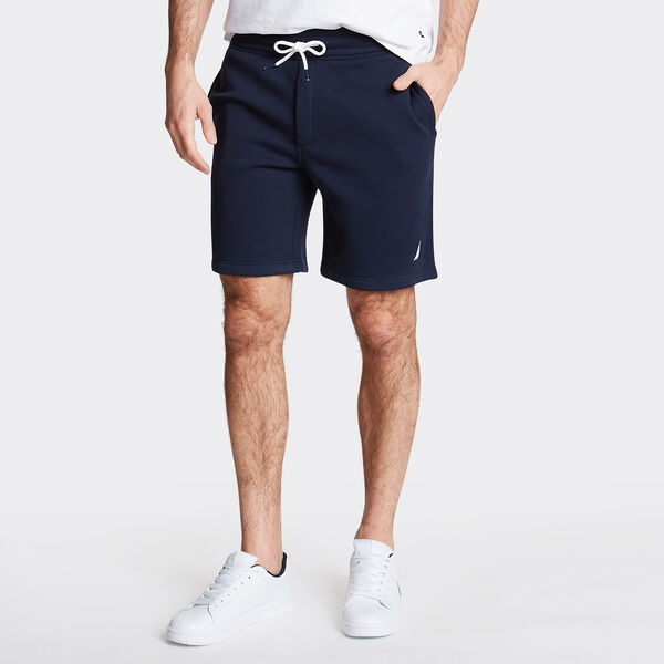 "9"" LOGO KNIT SHORTS    - Navy"