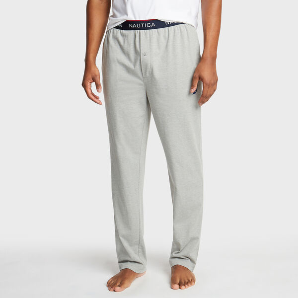 Jersey Lounge Jogger - Grey Heather