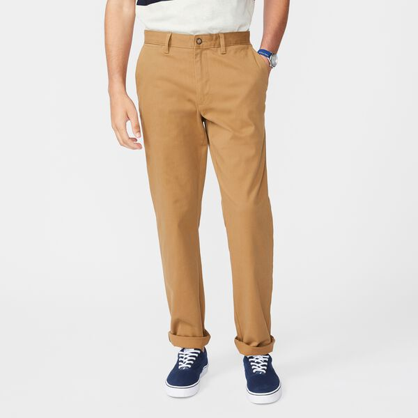 BIG & TALL CLASSIC FIT DECK PANT - Oyster Brown