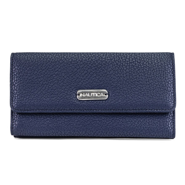 MONEY MANAGER CONTINENTAL WALLET - Navy