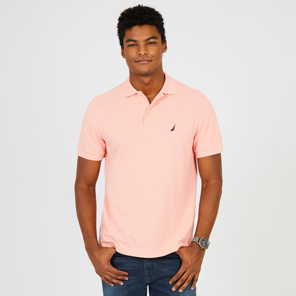 Classic Fit Mesh Polo - Sunset