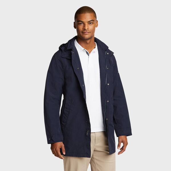 Mariner Water Resistant Car Coat - Pure Dark Pacific Wash