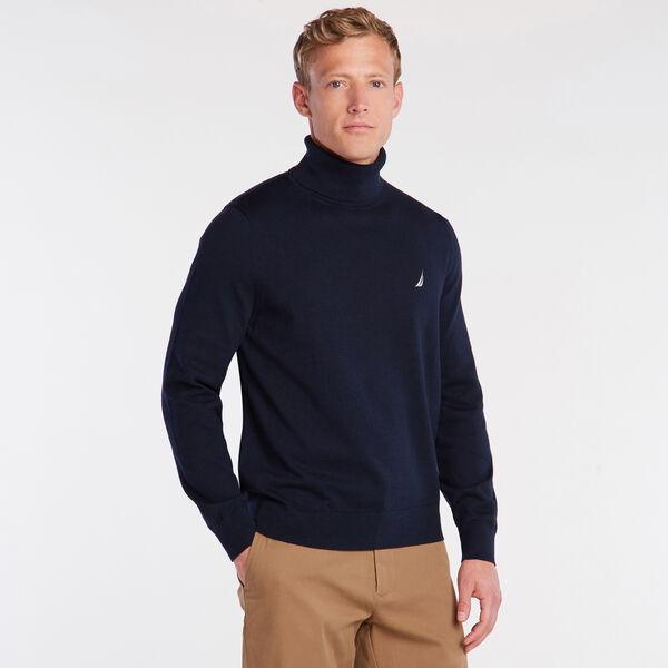 NAVTECH TURTLENECK SWEATER - Pure Dark Pacific Wash