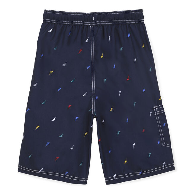 Toddler Boys' Shaun J-Class Swim Trunks (2T-4T),Sport Navy,large