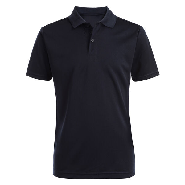 BOY'S HUSKY PERFORMANCE POLO (8H-20H) - Workshirt Blue