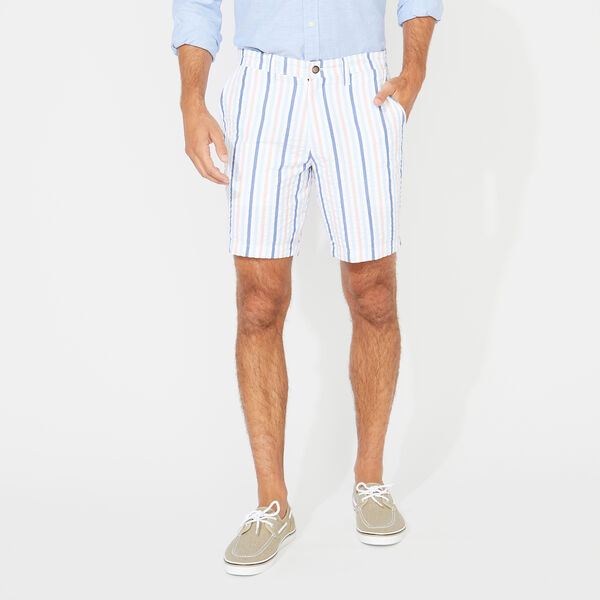CLASSIC FIT SEERSUCKER SHORT - Coral Sands