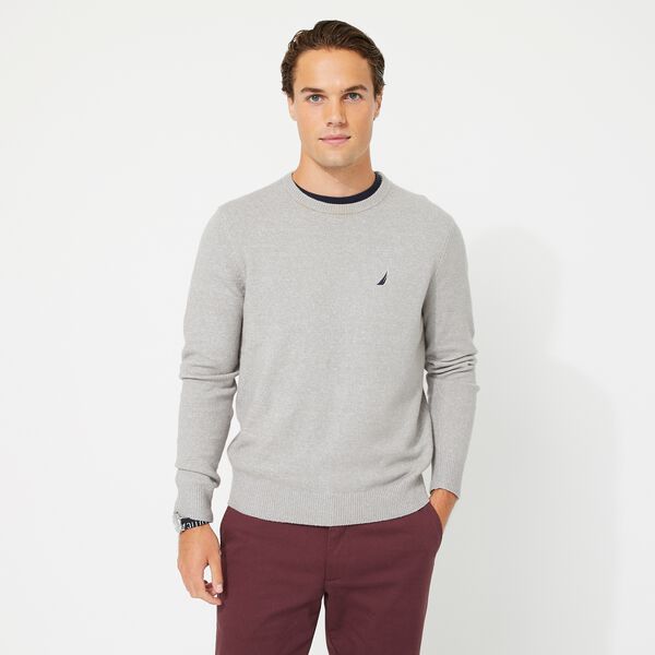 SUSTAINABLY CRAFTED J-CLASS SWEATER - Cliff Grey