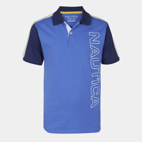 BOYS' FRANKIE HERITAGE POLO (8-20) - Rolling River Wash