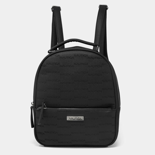 LOGO MINI BACKPACK - True Black