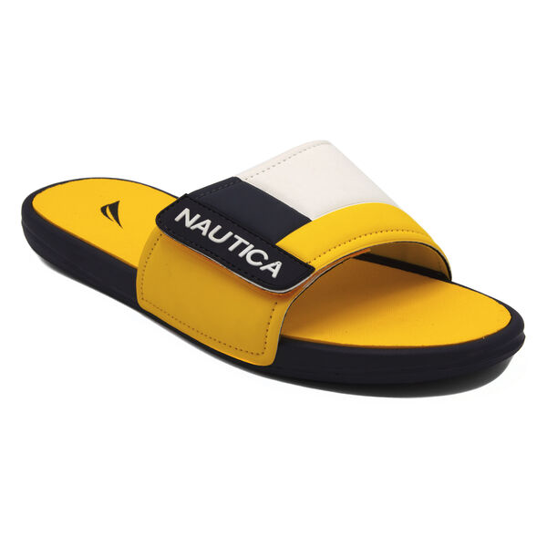 Bower Slide Sandal in Yellow - Marigold