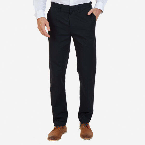 CLASSIC FIT BEDFORD CORD PANTS - True Black