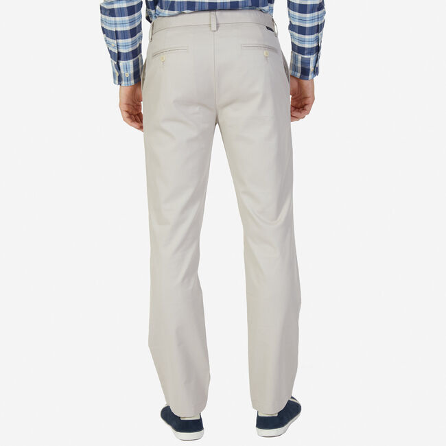 Classic Fit Wrinkle-Resistant Pants,True Stone,large