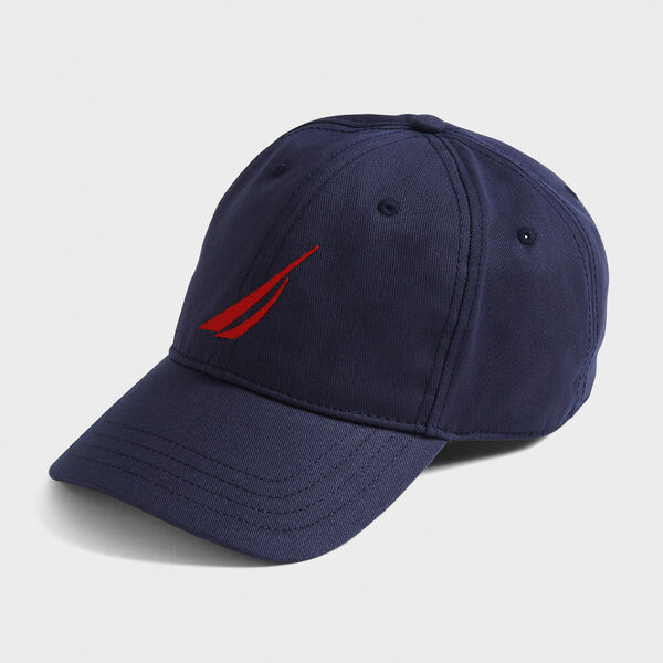 OVERSIZED J-CLASS 6-PANEL CAP - Navy