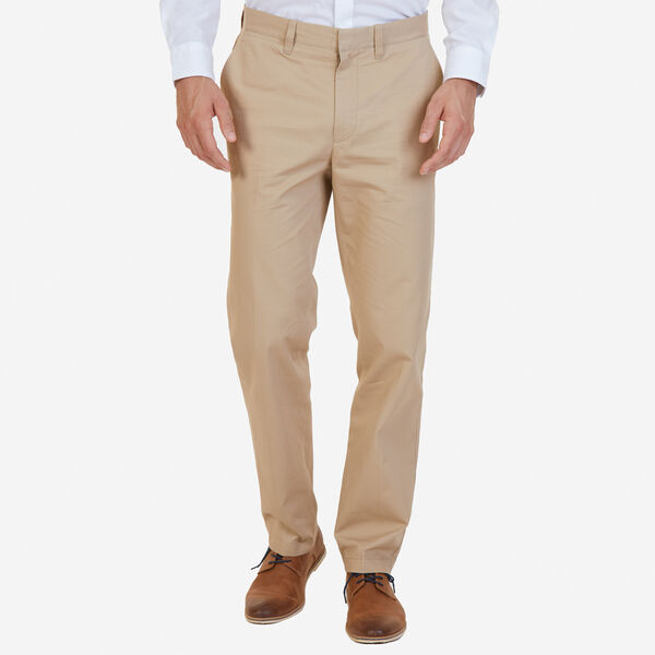 CLASSIC FIT BEDFORD CORD PANT - Military Tan