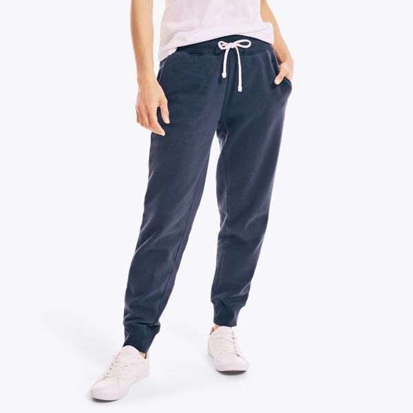 SUSTAINABLY CRAFTED FRENCH TERRY JOGGER - Stellar Blue Heather