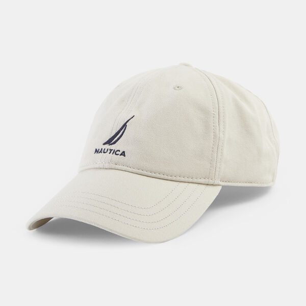 J-CLASS EMBROIDERED CAP - Sail White