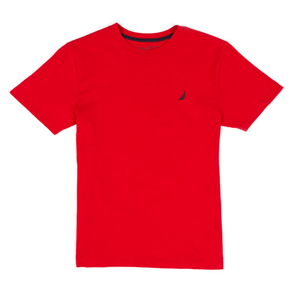 BOYS' COAST CREWNECK T-SHIRT (8-20) - Melonberry