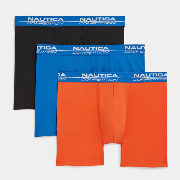 COMPETITION PERFORMANCE BOXER BRIEF, 3-PACK - Limestone