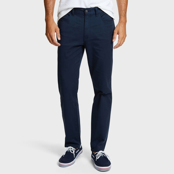Straight Leg 5-Pocket Pant - True Navy