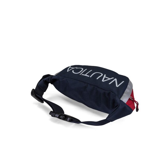 Nautica Sport Fanny Pack - Red & Navy,Nautica Red,large