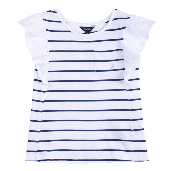 GIRLS' KNIT TOP (8-20) - White
