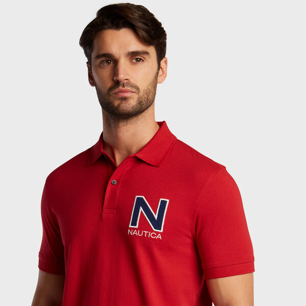 Short Sleeve 'N' Classic Fit Polo  - Rescue Red