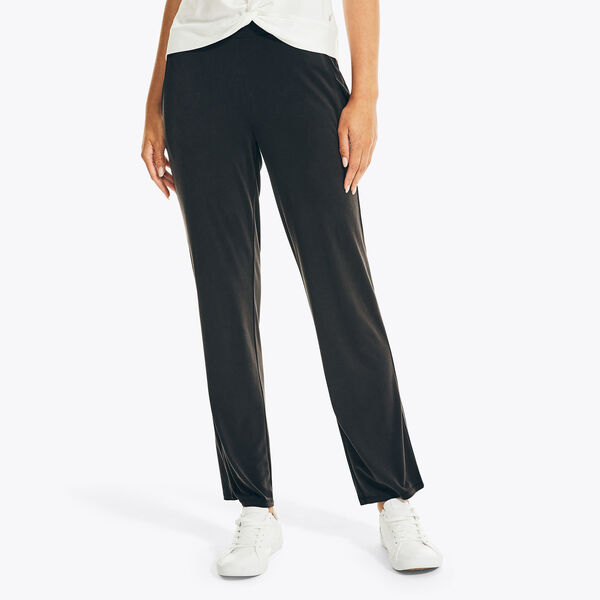 SUSTAINABLY CRAFTED PULL-ON PANT - True Black
