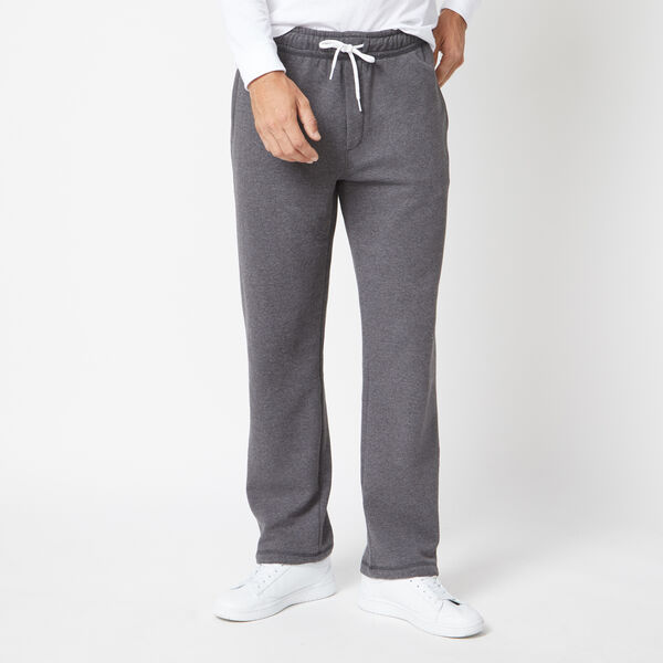 SIGNATURE FLEECE SWEATPANTS - Charcoal Heather