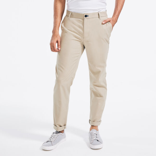 NAVTECH SLIM FIT TRAVELER PANT - Military Tan