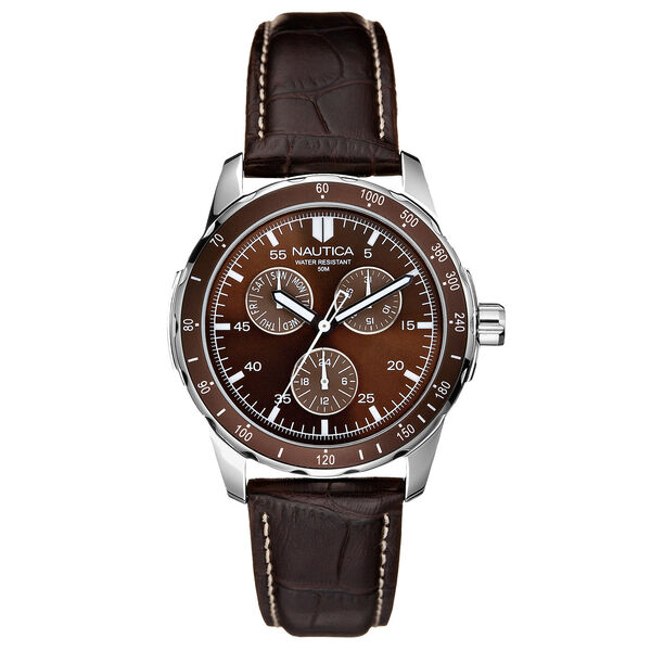 Wind Seeker Leather Watch - Multi