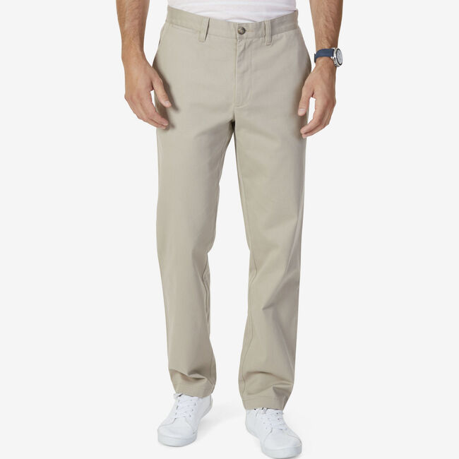 Classic Fit Performance Deck Pant,True Khaki,large
