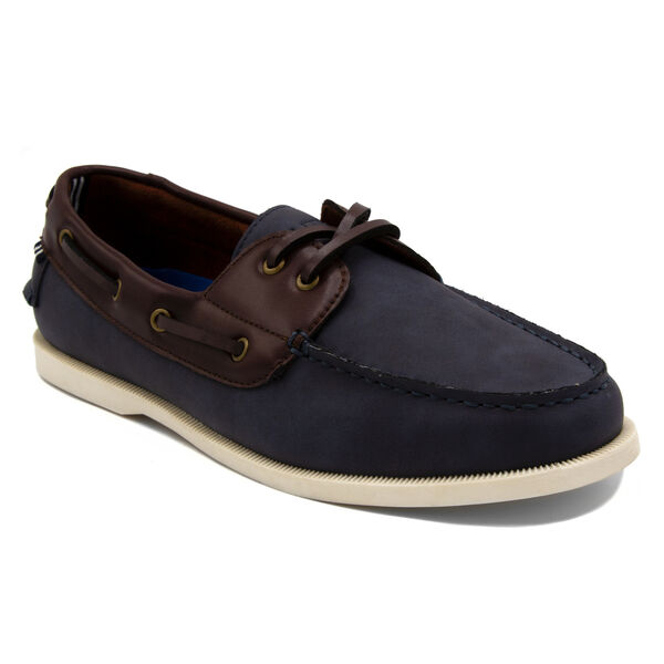 Nueltin 2 Boat Shoe in Navy - Pure Dark Pacific Wash