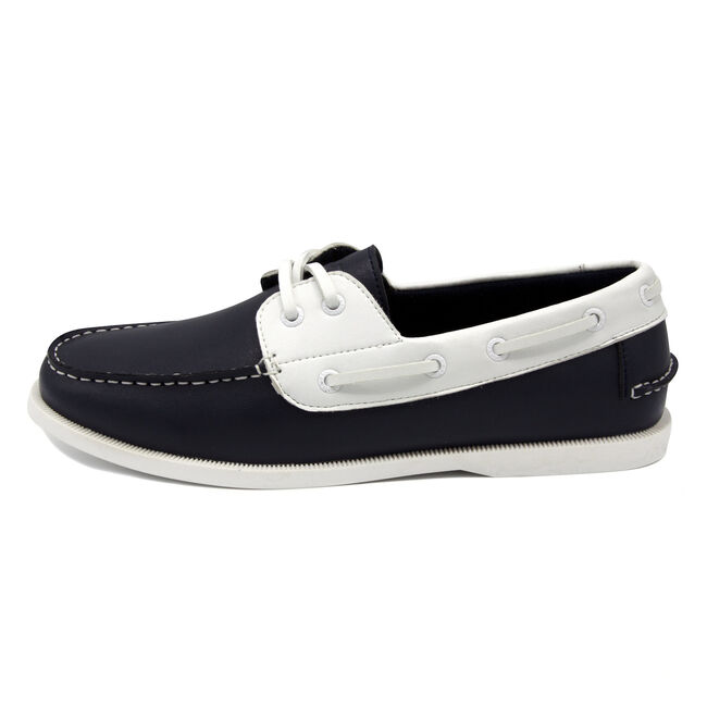 Nueltin Boat Shoes - Navy & White,Pure Dark Pacific Wash,large