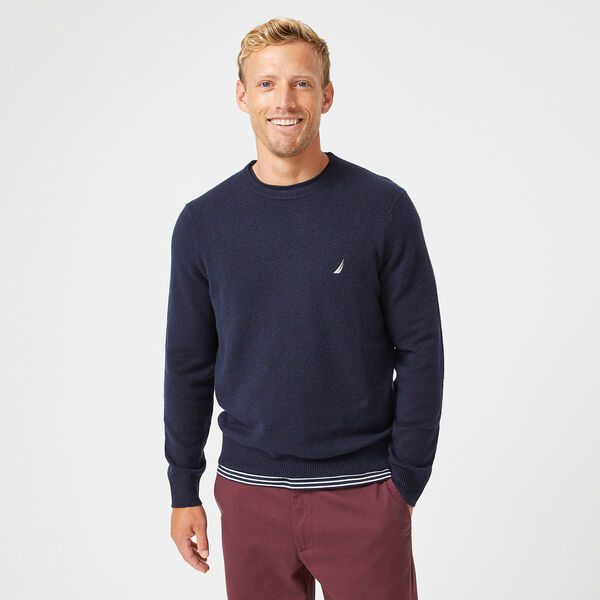 SUSTAINABLY CRAFTED J-CLASS SWEATER - Navy