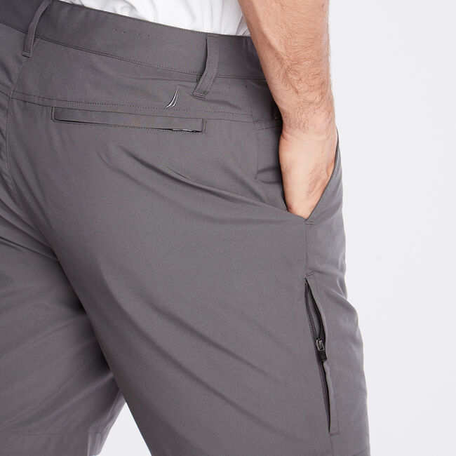 "8.5"" Performance Golf Short,Grey Carbon,large"