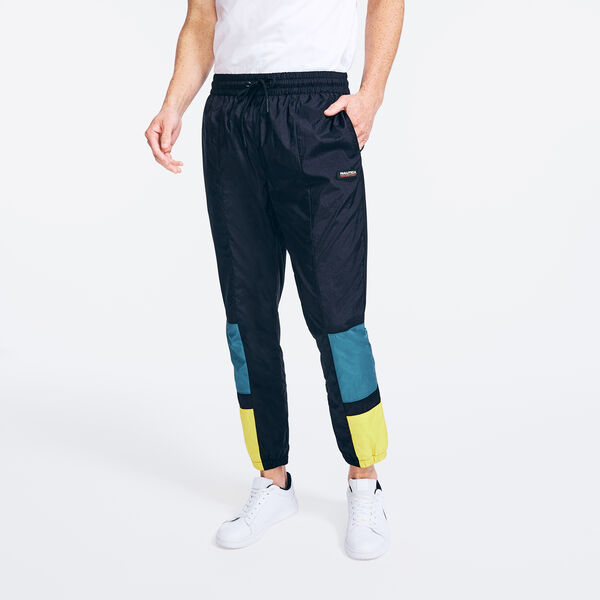 COMPETITION COLORBLOCK TRACK PANT - True Black