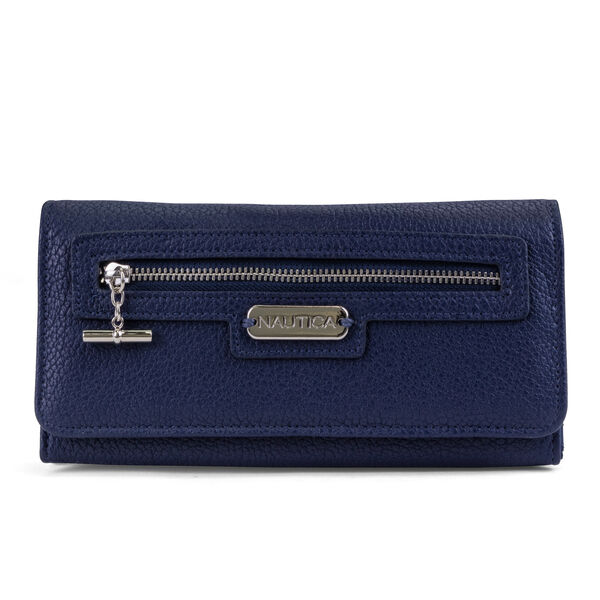 ABOVE BOARD BOXED CONTINENTAL WALLET - Pure Deep Bay Wash