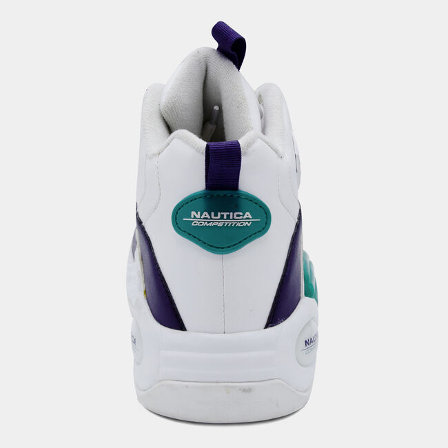 NAUTICA COMPETITION SPARA HIGH TOP IN WHITE,Bright White,large