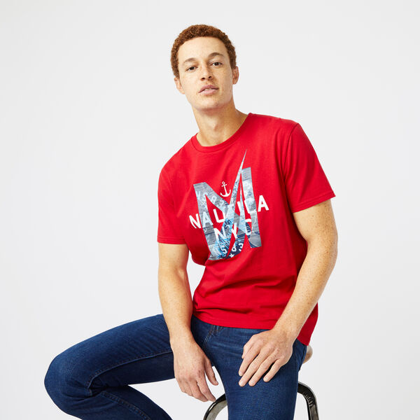 Artist Series Logo T-Shirt - Nautica Red