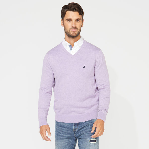 NAVTECH V-NECK SWEATER - Cyclone