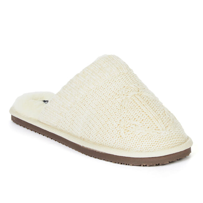 Women's Fantail Slippers,Oyster Bay Heather,large