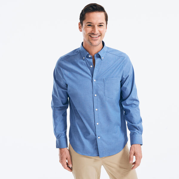 CLASSIC FIT WRINKLE-RESISTANT SOLID SHIRT - Rolling River Wash