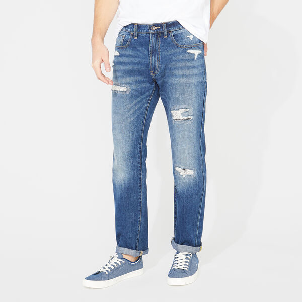 NAUTICA JEANS CO. RELAXED FIT DENIM - Aqua