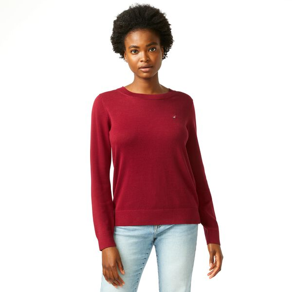 CLASSIC FIT CREW NECK SWEATER - Classic Red