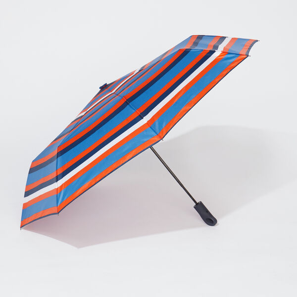 MULTICOLOR STRIPE UMBRELLA - Orange